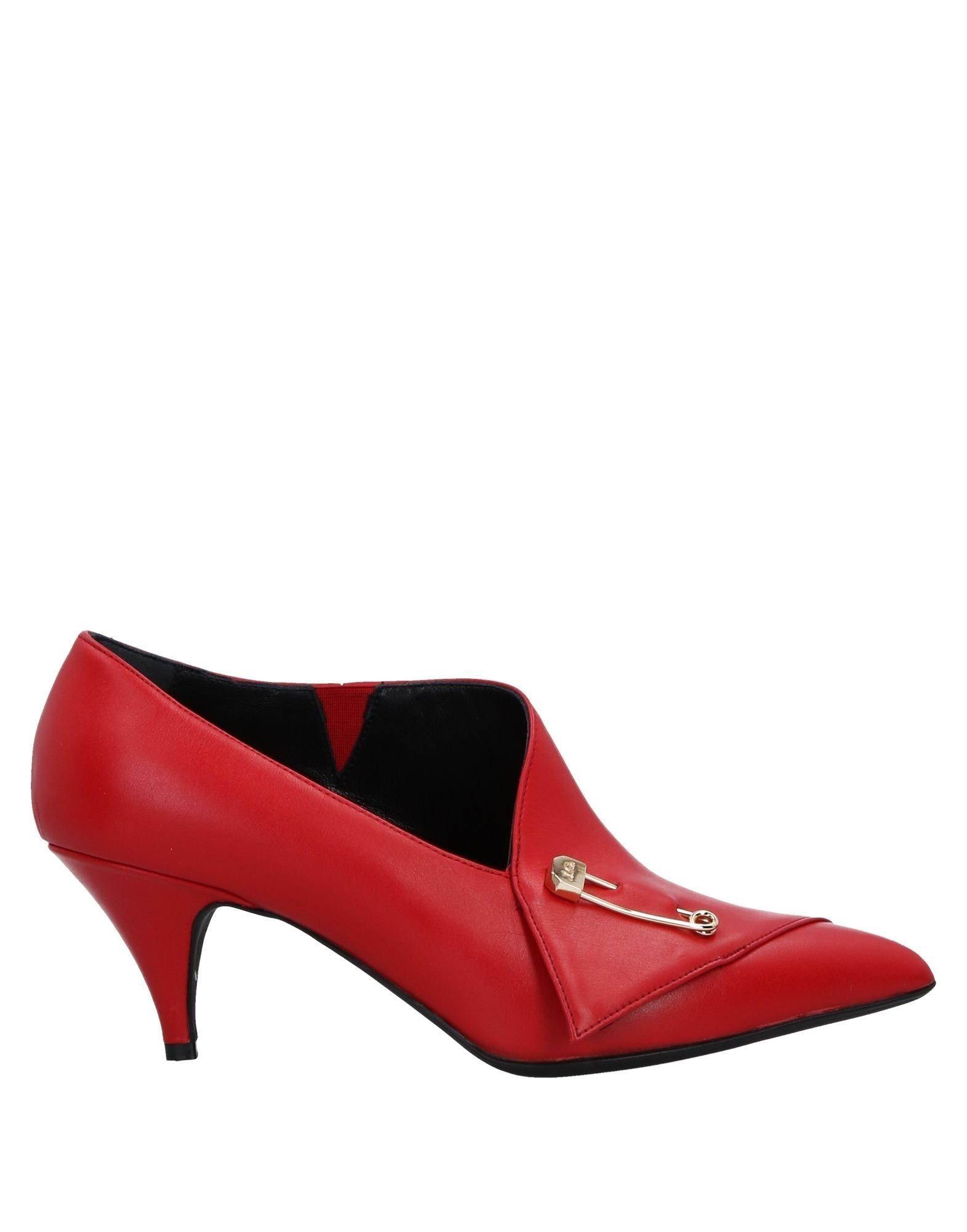 John Galliano Ankle Boot In Red