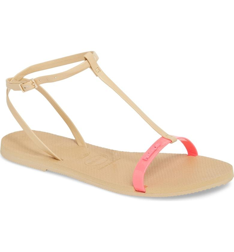 003337cf015b8c ... color to a laid-back T-strap sandal perfect for strolling along the  boardwalk or the sidewalk. Style Name  Havaianas You Belize T-Strap Sandal  (Women).