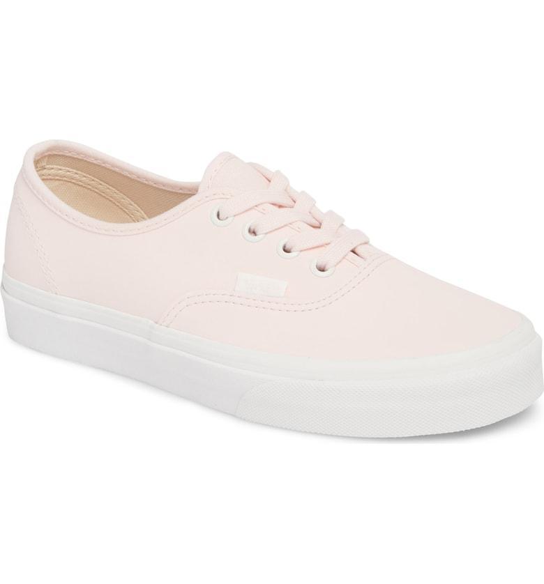 9062e8711e5 Vans Buck Sneaker In Heavenly Pink  Blanc De Blanc