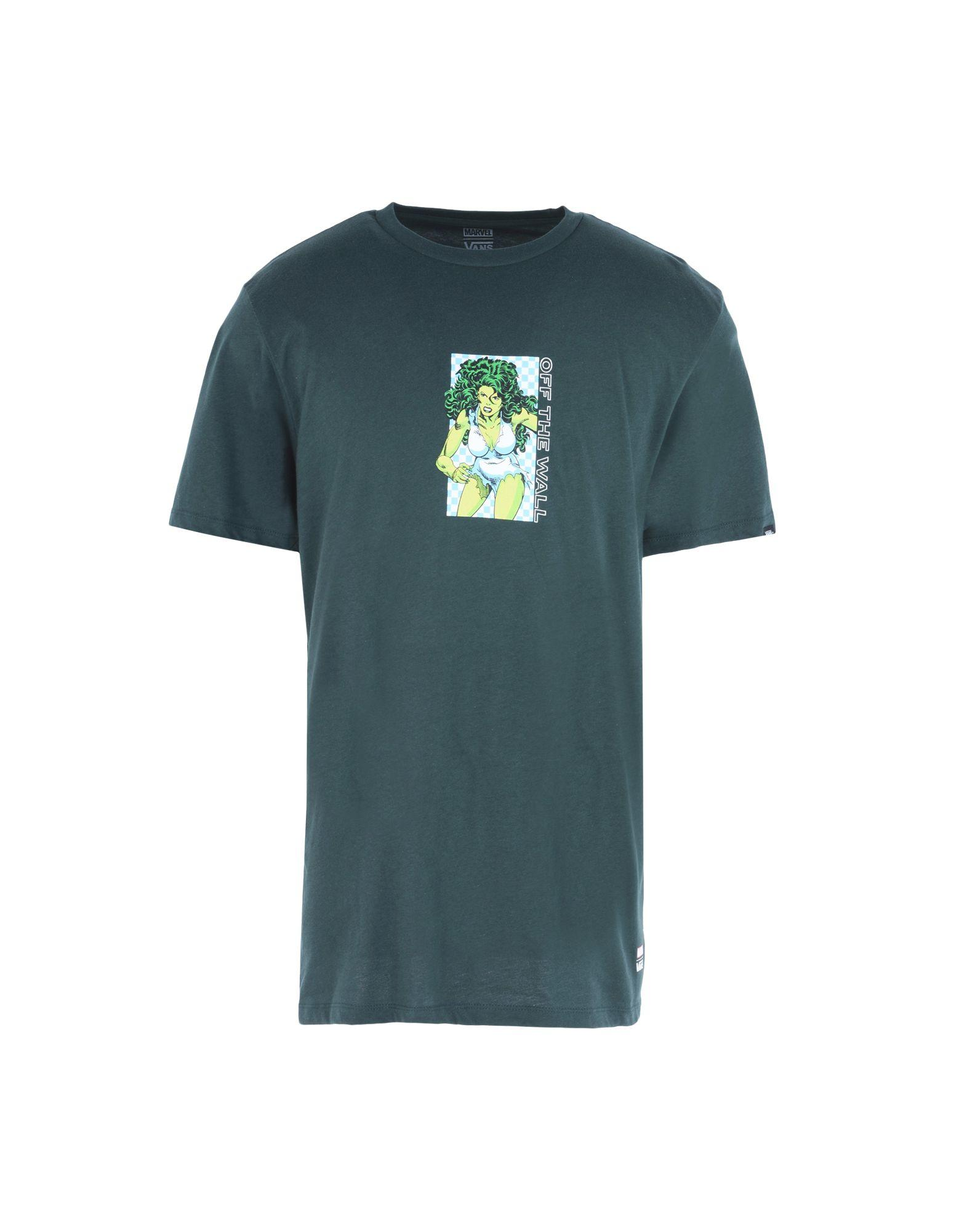 e4c376acc6 Vans T-Shirts In Dark Green