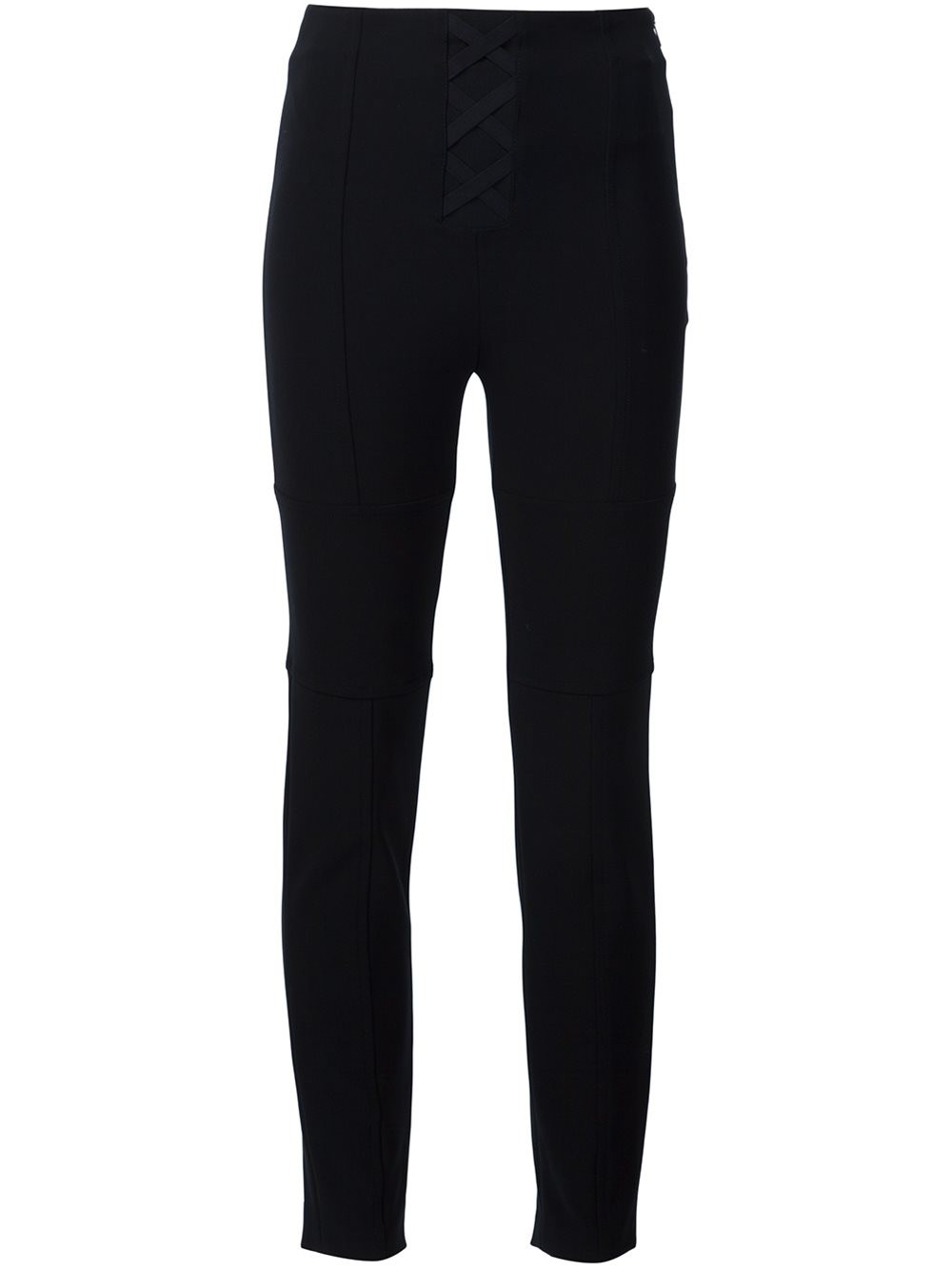 Neil Barrett Criss-cross Front Skinny Trousers