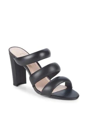 a32d5148f19 Avec Les Filles Mara Leather Sandals In Black