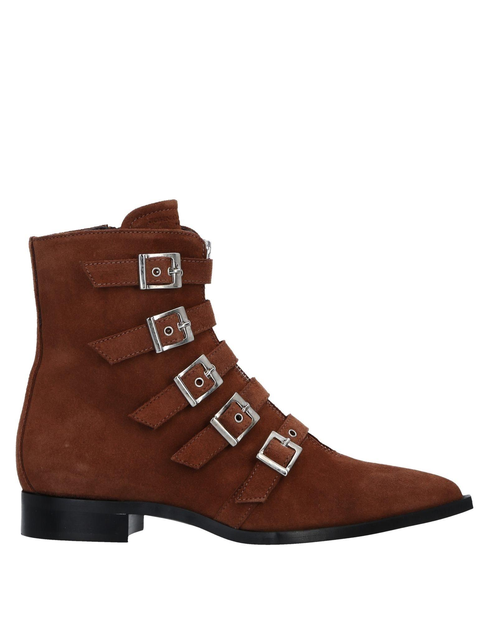 John Galliano Ankle Boot In Brown