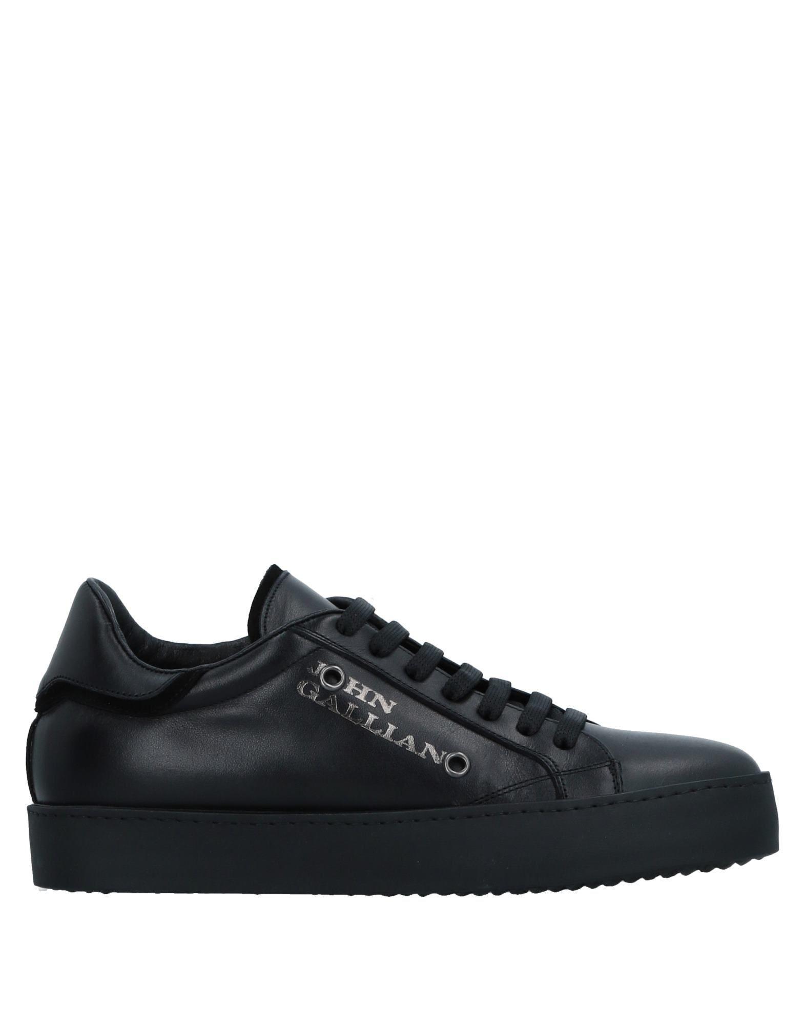 John Galliano Sneakers In Black