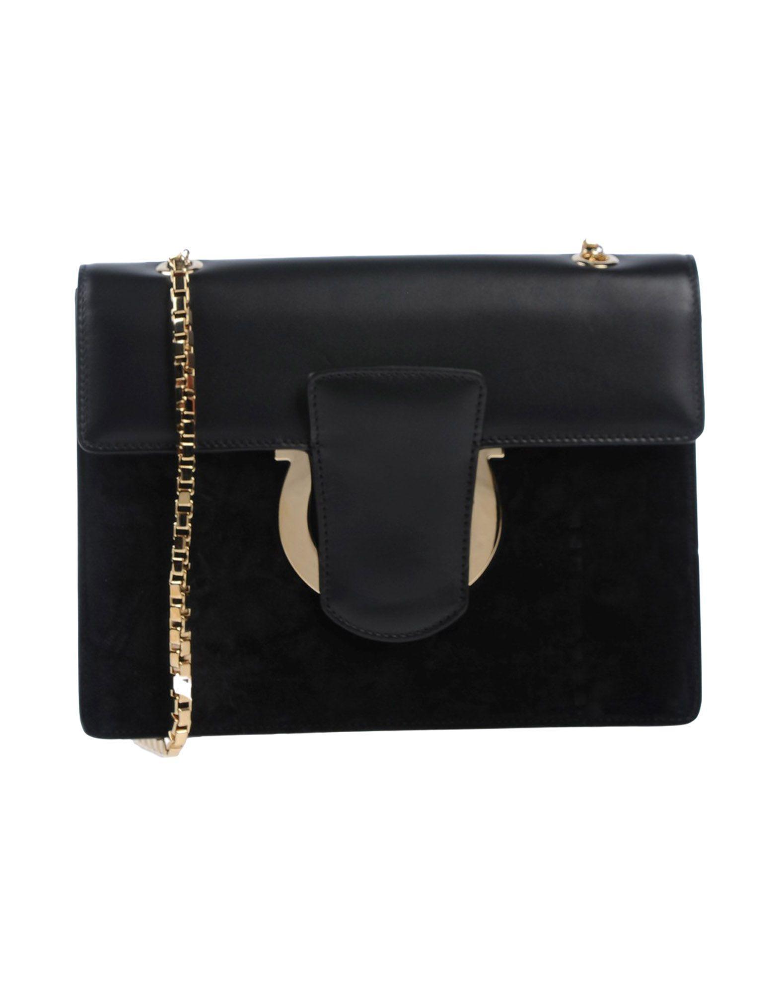 Salvatore Ferragamo Cross-body Bags In Black