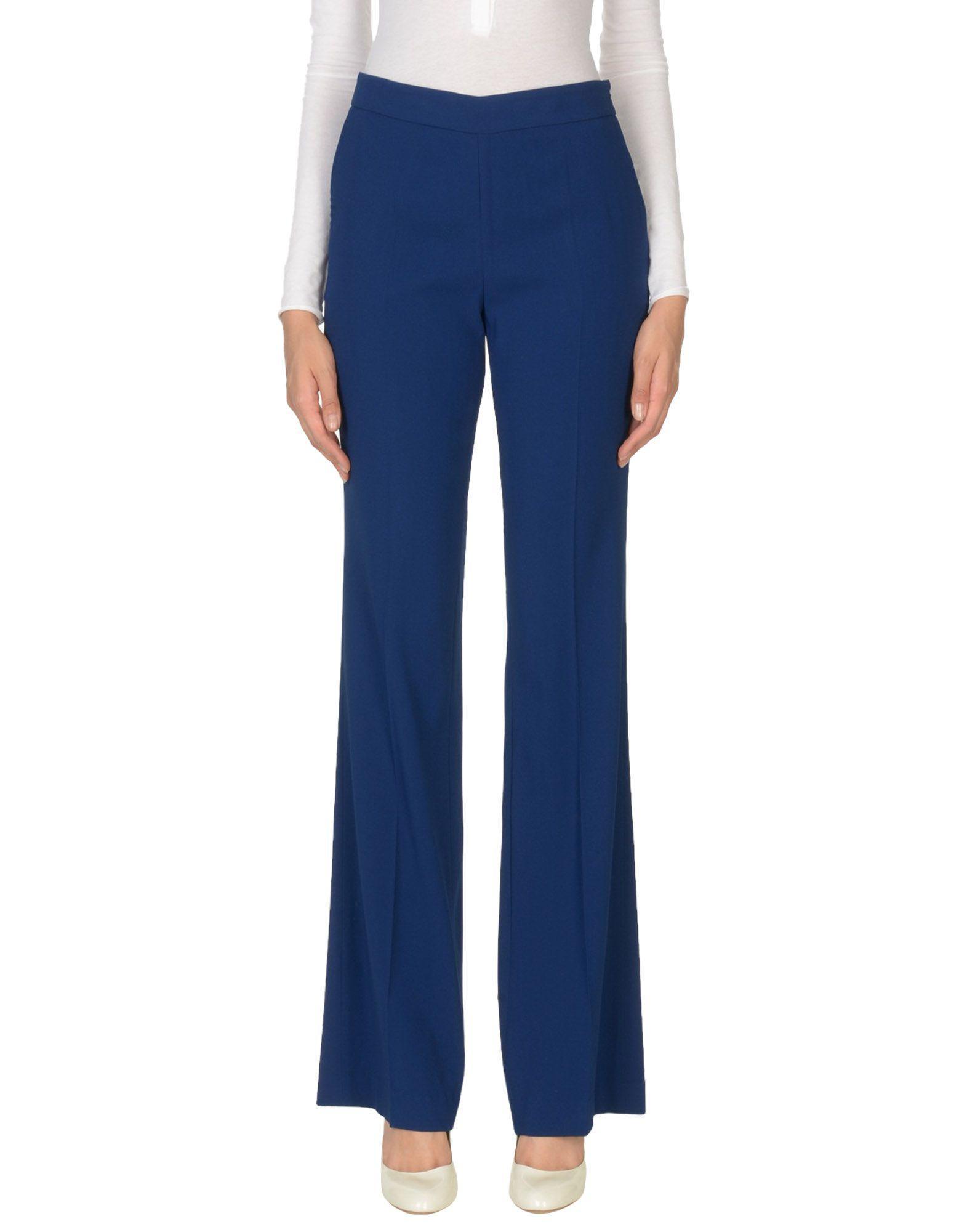 Rossella Jardini Casual Pants In Blue