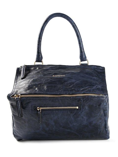 Givenchy Medium 'pandora' Tote In Night Blue