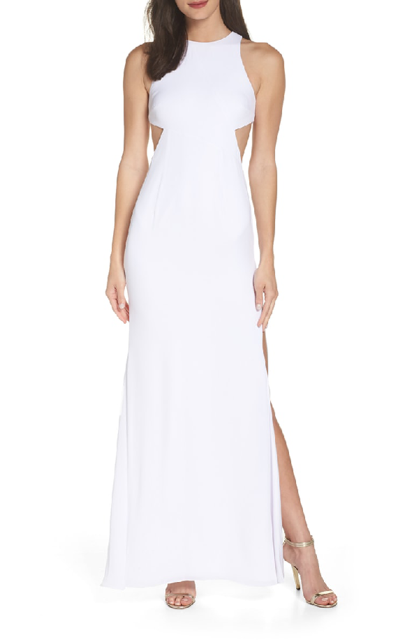 Fame And Partners Fame & Partners The Midheaven Gown In White