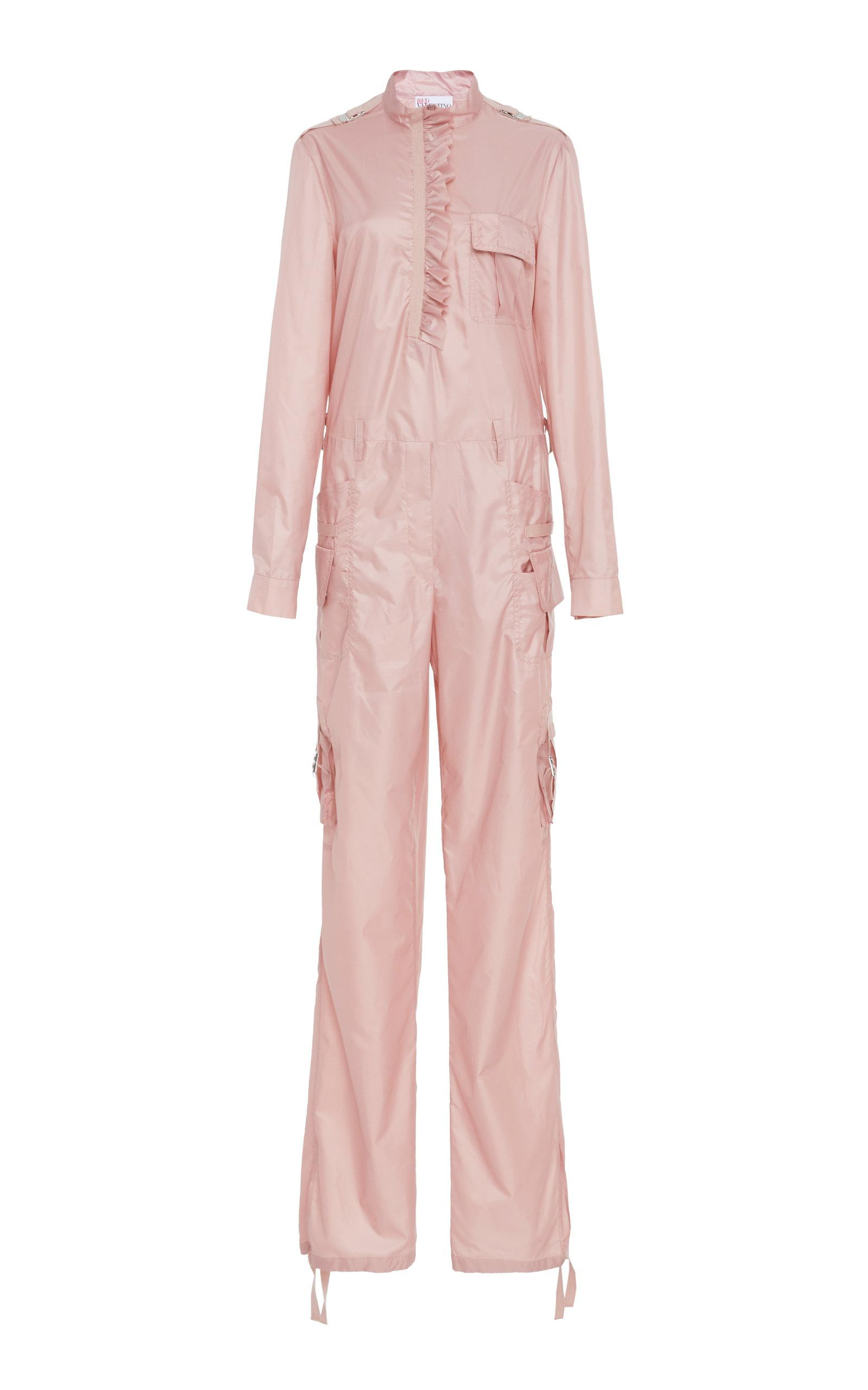 798b04c784 Red Valentino Soft Poli Jumpsuit In Pink