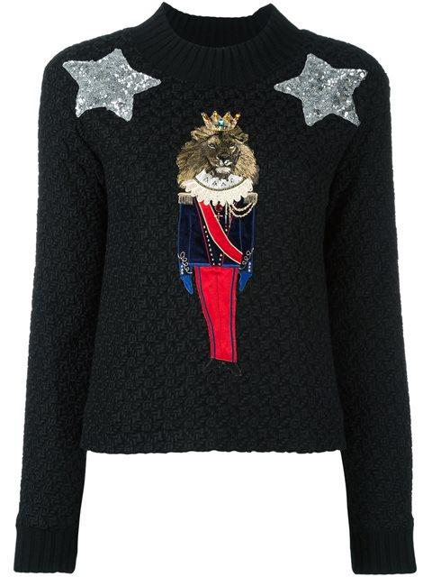 Dolce & Gabbana Sweaters In Black