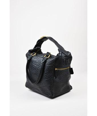 e46e819097 Celine 1 Black Pebbled Leather Tote Bag | ModeSens