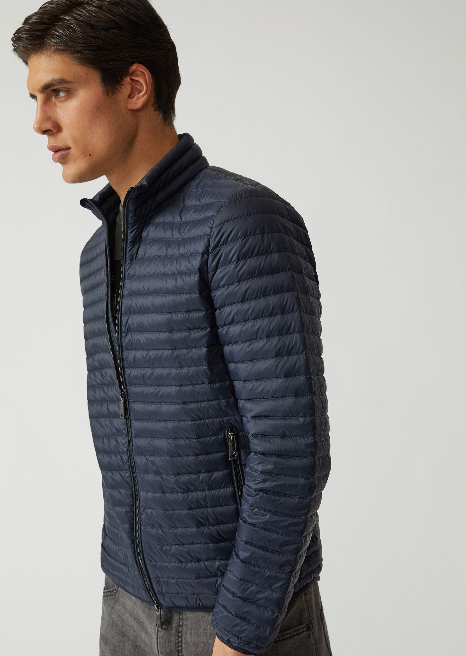 Emporio Armani Down Jackets - Item 41825145 In Midnight Blue