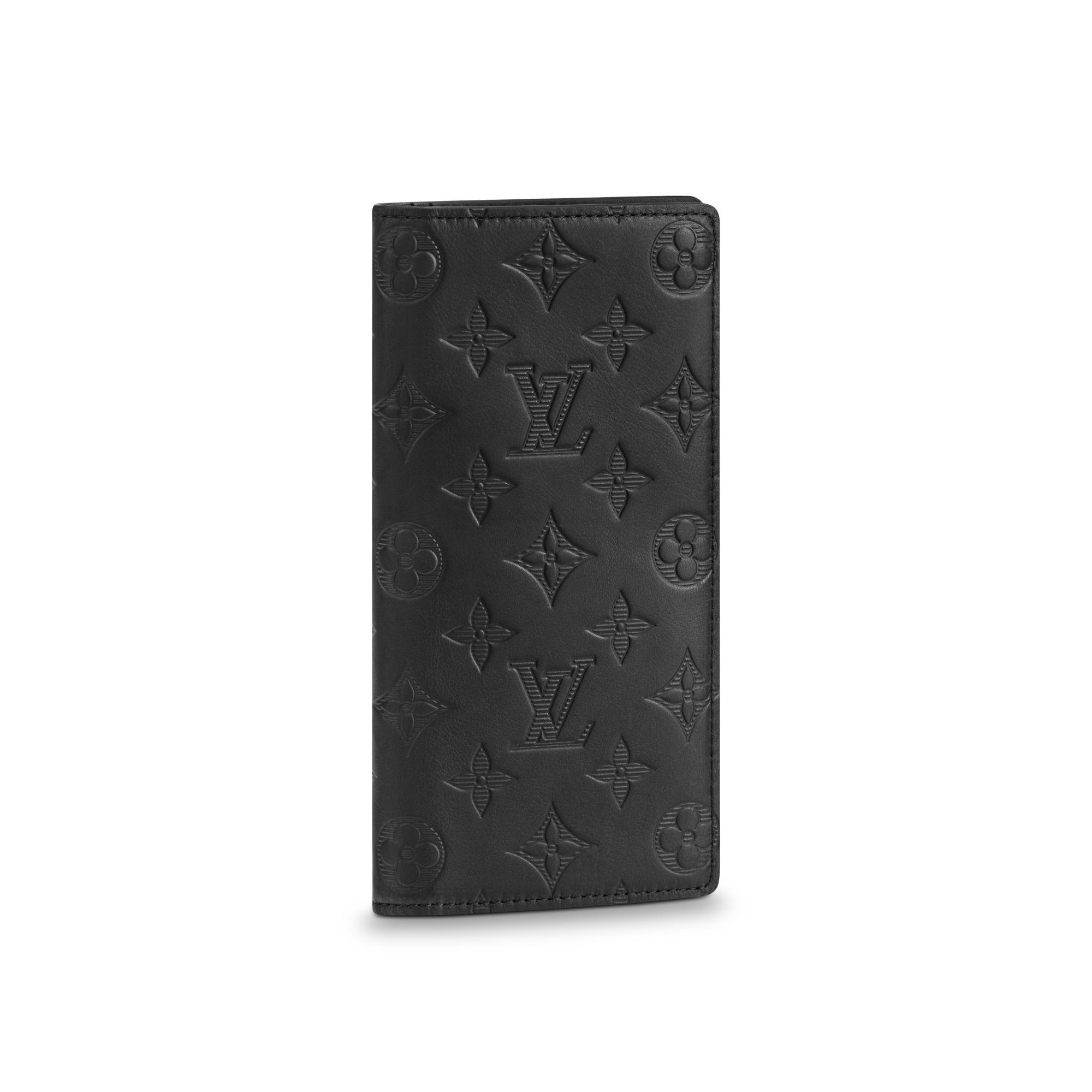1952b52aa21d Louis Vuitton Brazza Wallet In Monogram Shadow