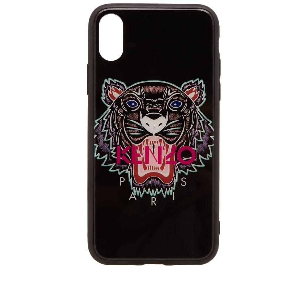 7d14d3f857 Kenzo Acrylic Tiger Iphone X Case in 99 Black