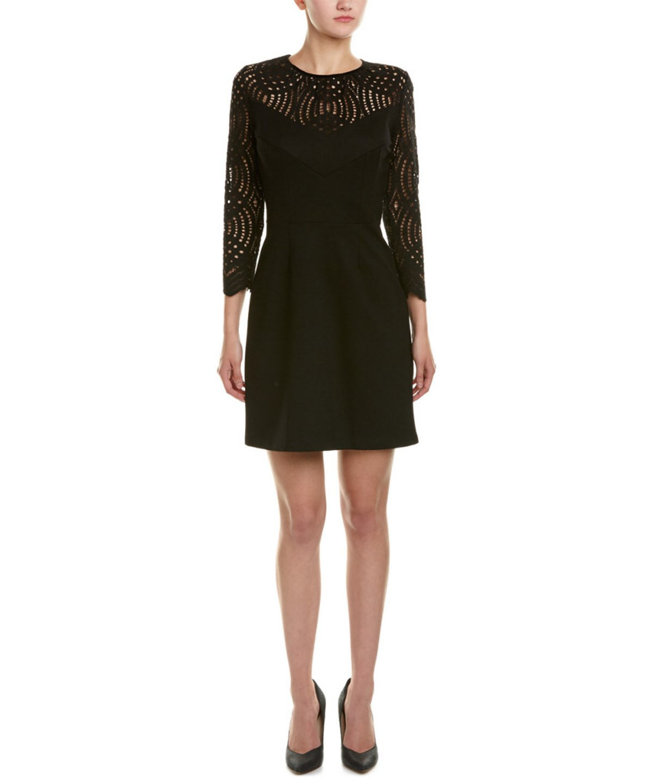 Just Cavalli A-line Dress In Black