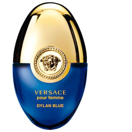 Versace Dylan Blue Pour Femme Ovetto Mini Spray 0.34 oz/ 10 ml Eau De Parfum Spray