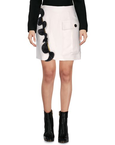 Emanuel Ungaro Mini Skirt In White