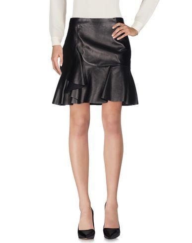 Alexander Mcqueen Knee Length Skirt In Black