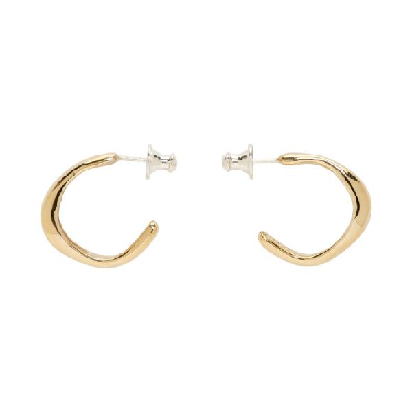24881f0db Faris Bronze Small Vero Hoop Earrings | ModeSens