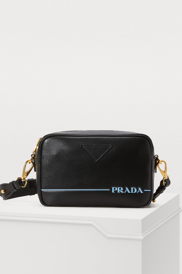 a5c356cffe74 Prada Camera Shoulder Bag In Nero