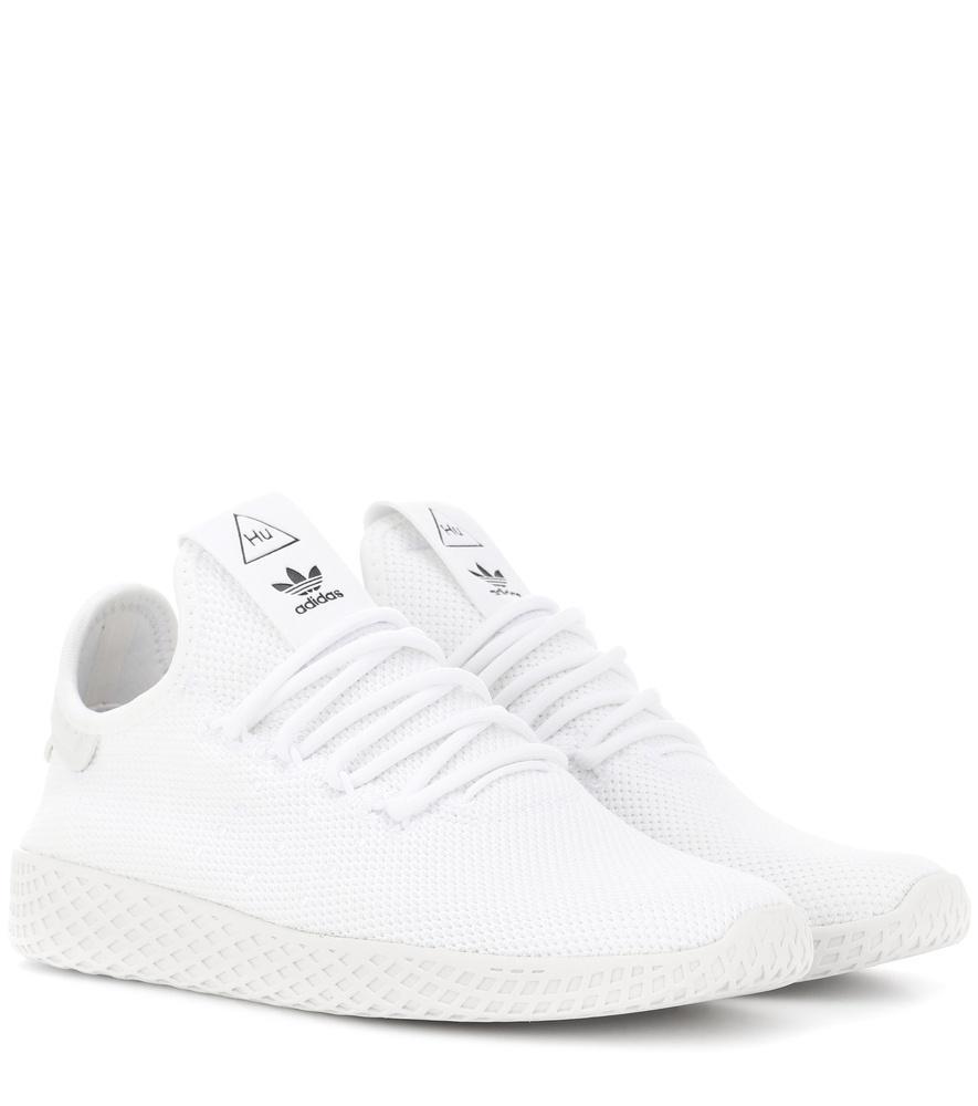 the latest 67c75 e373d Adidas Originals X Pharrell Williams Pharrell Williams Tennis Hu Sneakers  In White