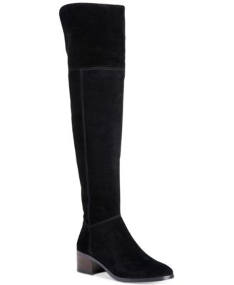 Coach 'lucia' Cuffable Over The Knee Boot (women) In Black