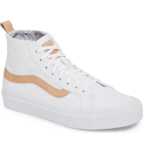 4c0b8cbdc50a Vans X Leila Hurst Sk8-Hi Decon Sf Sneaker In White  Amber Light ...
