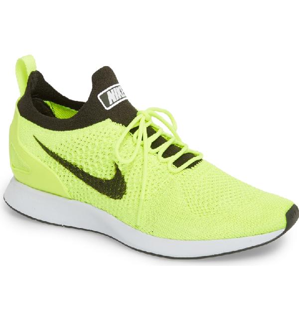 e0aa56fcfee2 Nike Air Zoom Mariah Flyknit Racer Sneaker In Volt  Sequoia  White ...