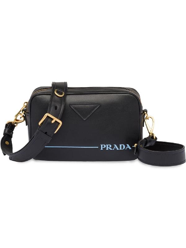a30a76a7246b Prada Mirage Leather Crossbody Bag Nero In Black | ModeSens