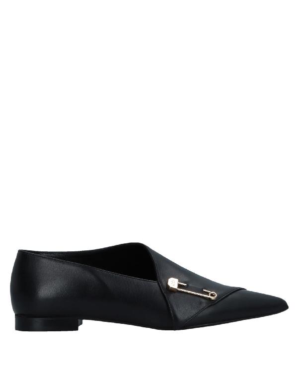 John Galliano Loafers In Black