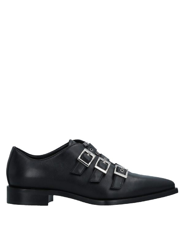 John Galliano Loafers In Black