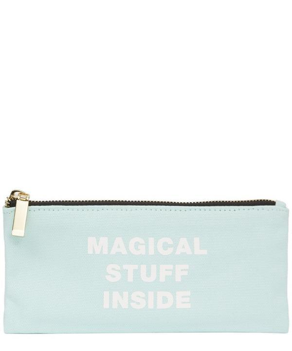 Rico Design Paper Poetry Mint Magical Stuff Pencil Case In Green