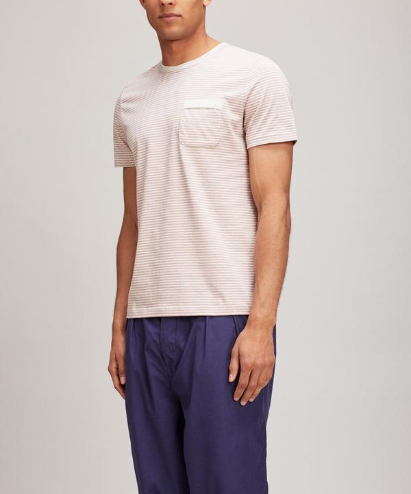 Oliver Spencer Envelope T-shirt In Pink