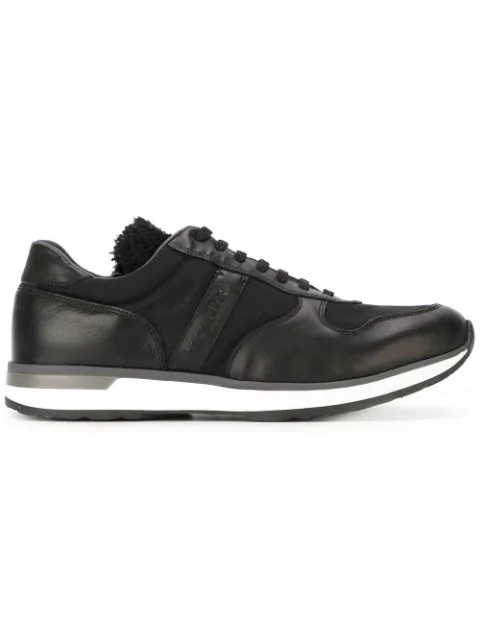 Moncler 'montego' Sneakers In Black