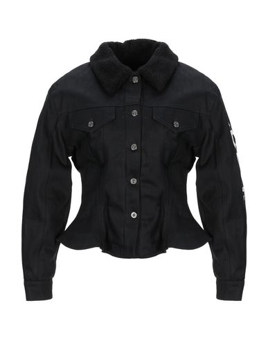 Off-White Screen-Printed Tailored Denim Jacket In Black