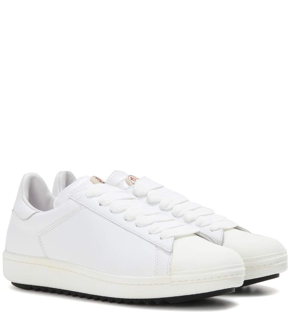 Moncler 'angeline Scarpa' Sneaker (women) In White Leather