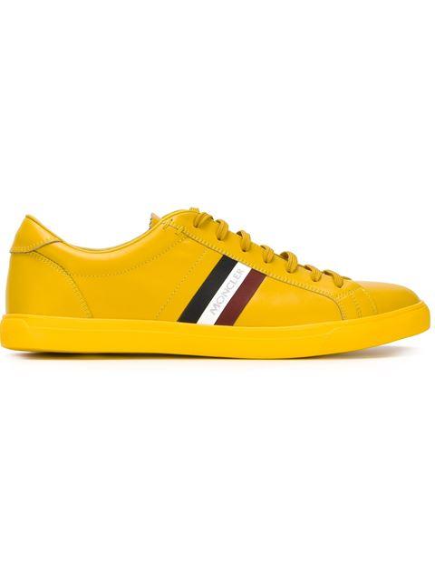 Moncler 'monaco' Sneakers In Yellow