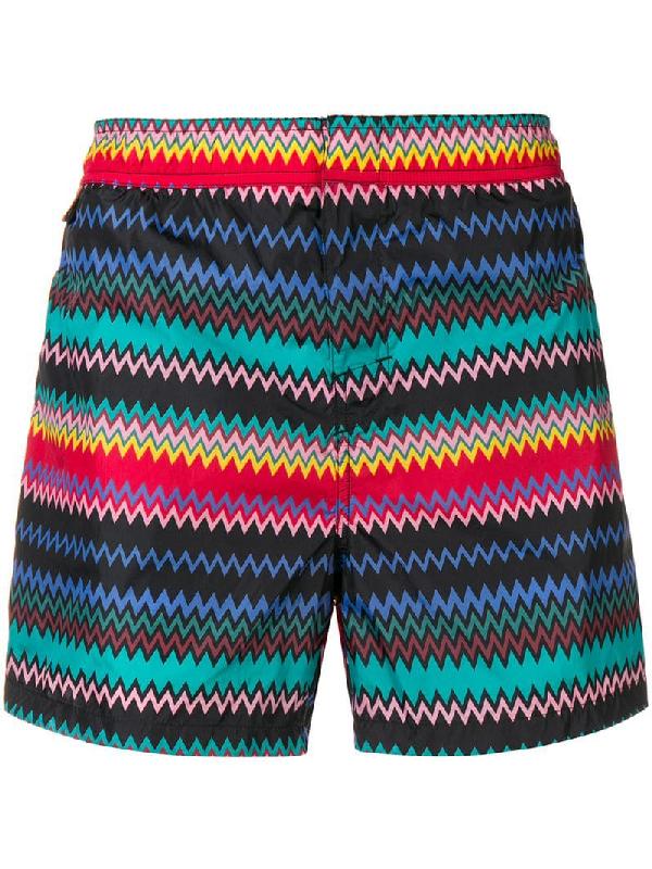 acd7c908fe23b1 Missoni Mid-Length Printed Swim Shorts - Multi In Sm021 Multi | ModeSens