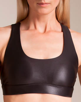 sale usa online shades of new high quality Koral Fame Cross-back Sports Bra In Lead   ModeSens