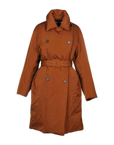 Jil Sander Down Jacket In Brown