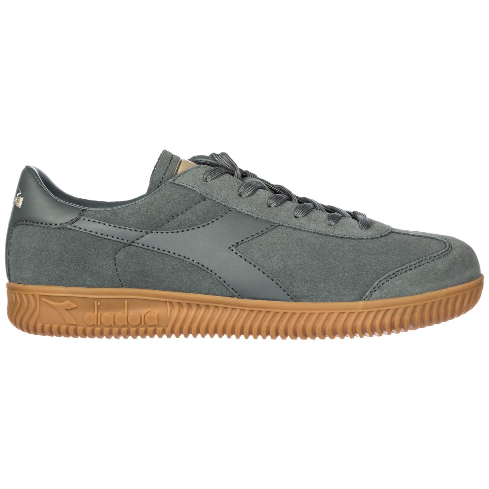 online retailer 9659b 39300 Herrenschuhe Herren Wildleder Sneakers Schuhe Squash Elite in Grey