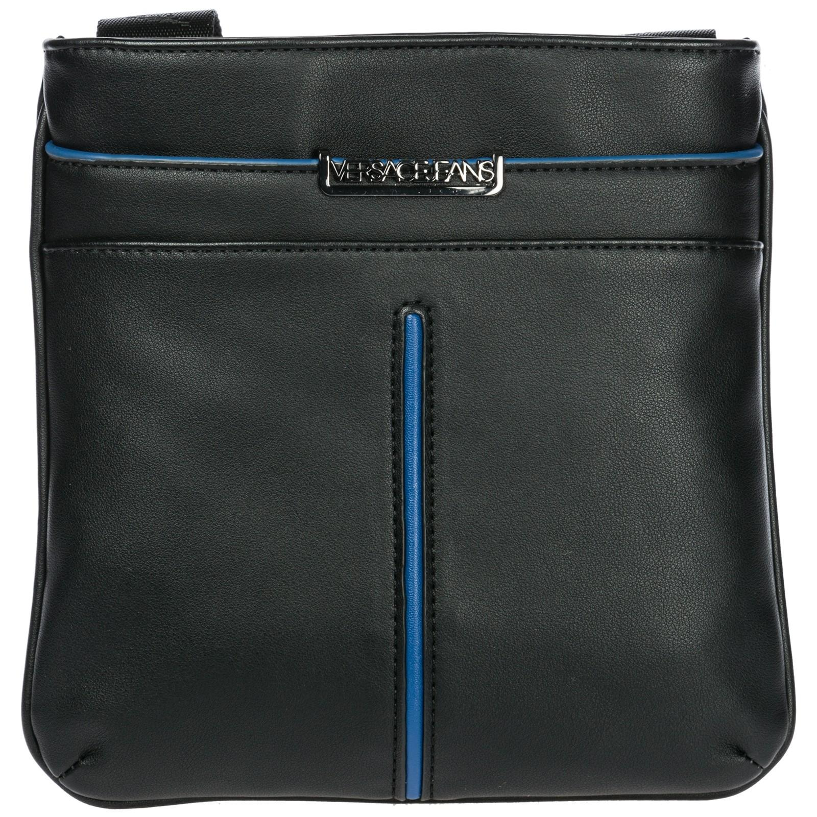 70d94f926864 Versace Jeans Men S Cross-Body Messenger Shoulder Bag In Black ...