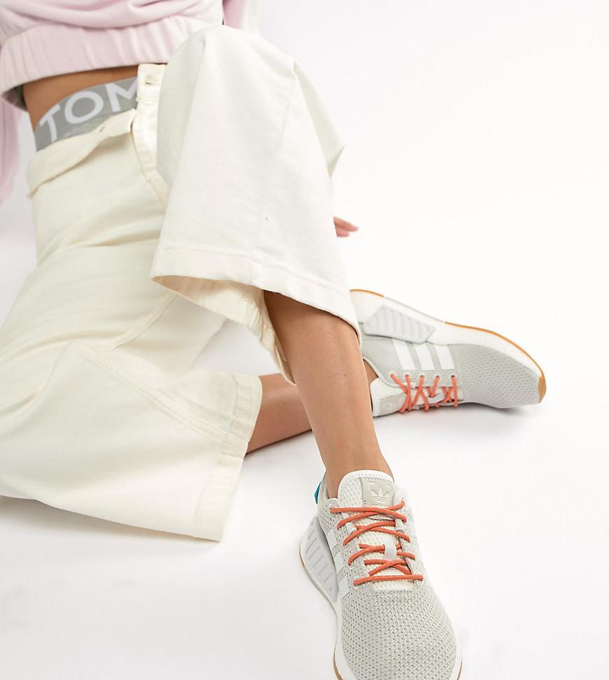 adidas originals nmd r2 sneakers in beige