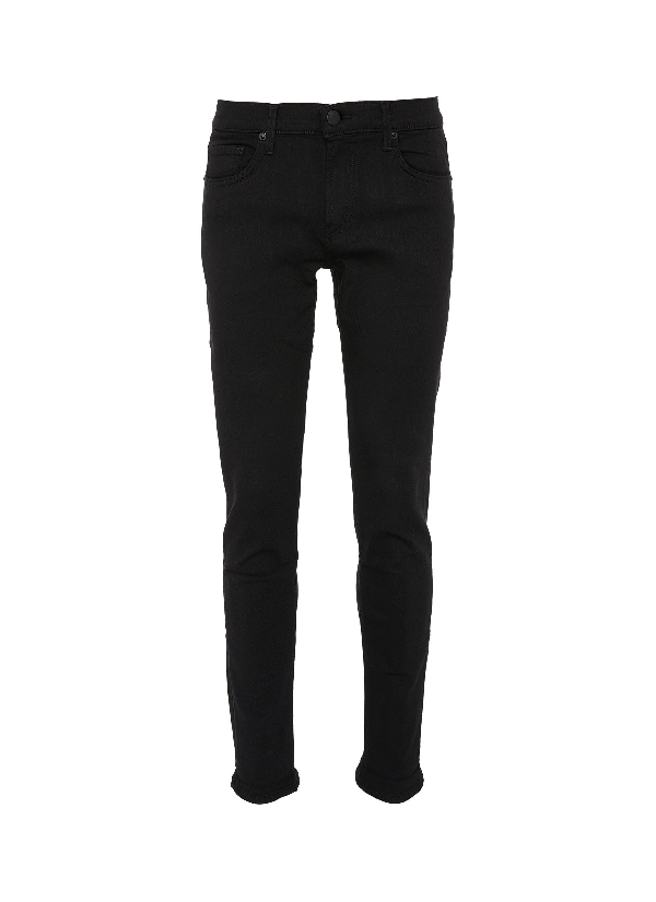 J Brand Men's Tyler Slim-fit Jeans, Black In Trivor Black