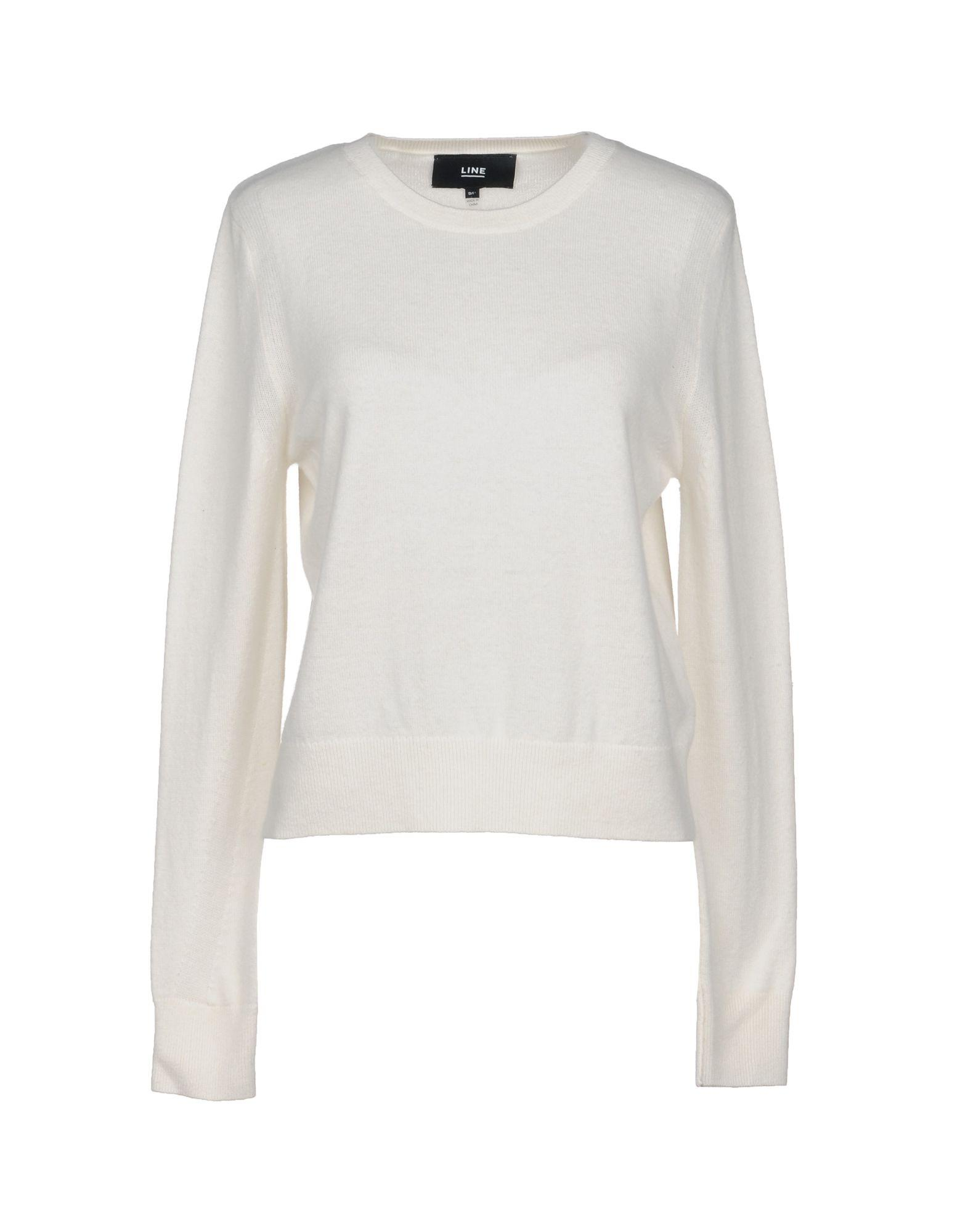 Line Cashmere Blend In Ivory