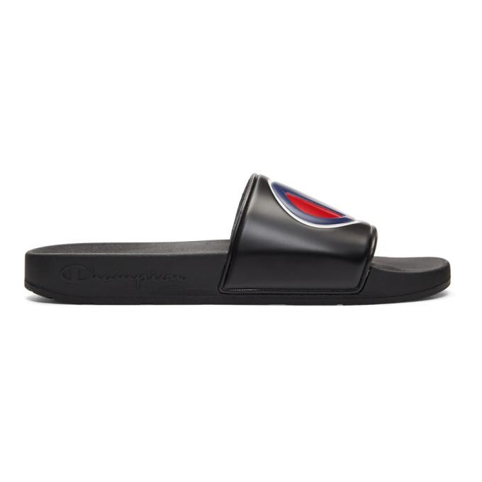 43c016716 Champion Slide Sandal In Black