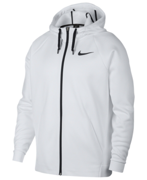 the best attitude 866a8 f1e0e Men's Therma Training Full Zip Hoodie in White