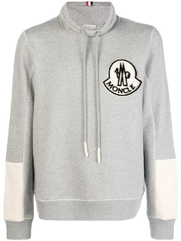 17ff655b795c Moncler Maglia Cowl Neck Sweatshirt In Grey