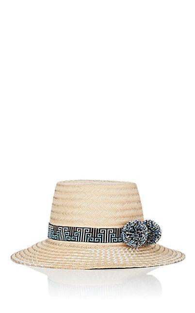 Yosuzi Straw Hat - White