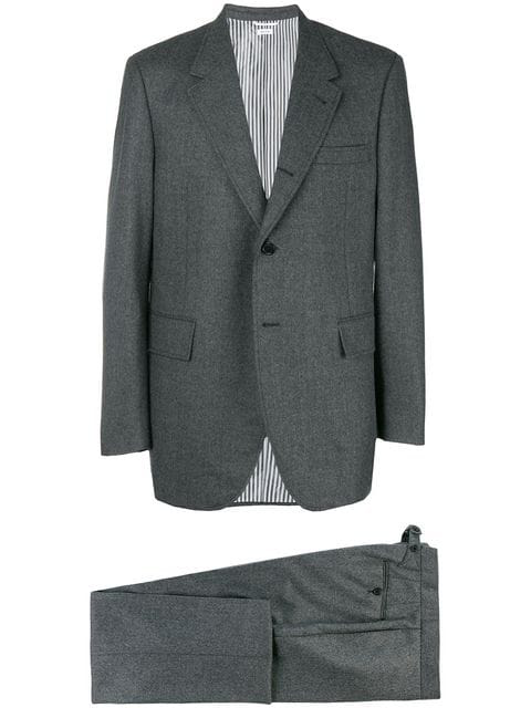 Thom Browne Two Piece Suit - Grey